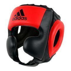 Шлем боксерский Adidas Pro Sparring Headguard черно-красный