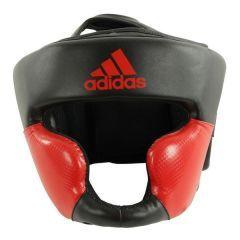 Шлем боксерский Adidas Response Standard Head Guard черно-красный