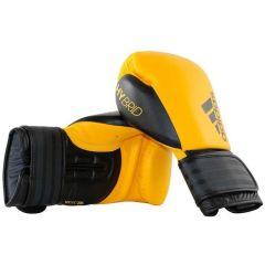 Перчатки боксерские Adidas Hybrid 200 желто-черные