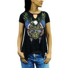 Женская футболка Affliction AC Ramparts
