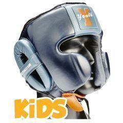 Детский боксерский шлем Ultimatum Boxing Navy