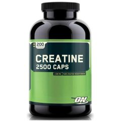 Optimum Nutrition Creatine Monohydrate 2500 Caps 200 капсул моногидрат