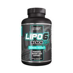 Жиросжигатель Nutrex Lipo 6 Black Hers 120 капсул