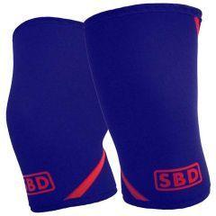 Наколенники SBD Knee Sleeves 7мм - 2 шт. (ограниченная серия) - Navy & Red
