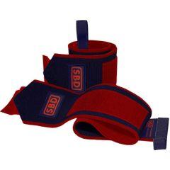 Кистевые бинты SBD Wrist Wraps Flexible (ограниченная серия) - Navy & Red