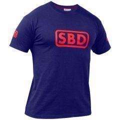 Футболка SBD (ограниченная серия) - Navy & Red