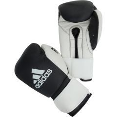 Перчатки боксерские Adidas Glory Strap Professional черно-белые
