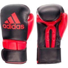 Перчатки боксерские Adidas Super Pro Safety Sparring Hook & Loop черно-красные