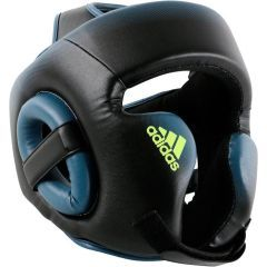 Боксёрский шлем Adidas Speed Head Guard черно-синий