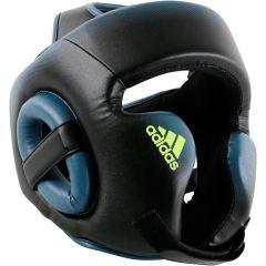 Боксёрский шлем Adidas Speed Head Guard черно-синий