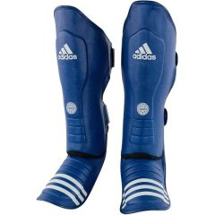Защита голени и стопы Adidas WAKO Super Pro Shin Instep Guards синяя