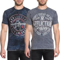 Двухсторонняя футболка Affliction Live Fast