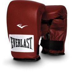 Снарядные перчатки Everlast Powerlock - красный