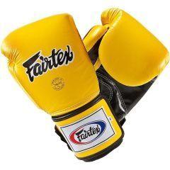 Боксерские перчатки Fairtex BGV5 Pro Sparring - желтый