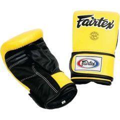 Снарядные перчатки Fairtex TGT7 - желтый/черный