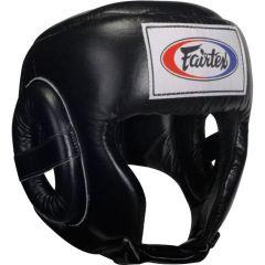Боксерский шлем Fairtex HG6 - черный