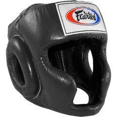 Боксерский шлем Fairtex HG3 - черный