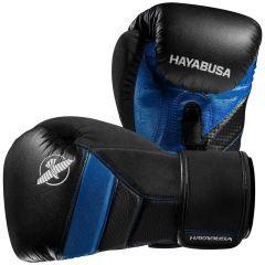Боксерские перчатки Hayabusa T3 - черный/синий