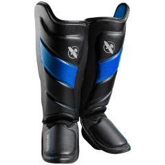 Защита голени и стопы (шингарды) Hayabusa T3 - черный/синий