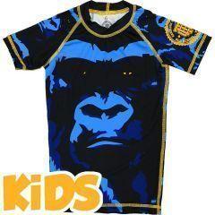 Детский рашгард Hardcore Training Gorilla - короткий рукав