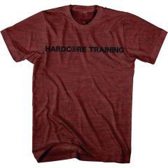 Футболка Hardcore Training Basic - бордовый