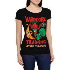 Женская футболка Hardcore Training Angry Vitamins