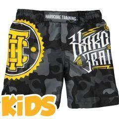 Детские ММА шорты Hardcore Training Night Camo