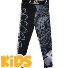 Детские компрессионные штаны Jitsu Patriot