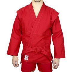 Куртка для самбо Крепыш Я Атака - красный
