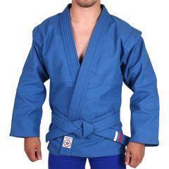 Куртка для самбо Крепыш Я Атака - синий