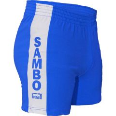 Шорты для самбо Крепыш Я - синий
