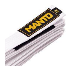 Пояс для кимоно БЖЖ Manto - белый