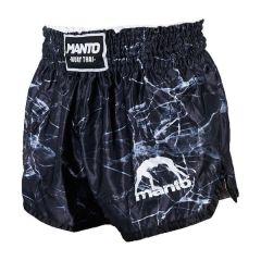 Шорты для тайского бокса Manto Black