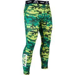 Компрессионные штаны (тайтсы) Manto Camo