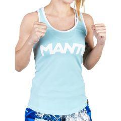 Женская майка Manto Sport - светло-синий