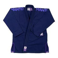 Кимоно (ги) для БЖЖ Manto X3 - темно-синий