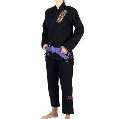 Женское кимоно (ги) для БЖЖ Manto Floral - черный