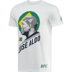 Футболка Reebok UFC Jose Aldo - white