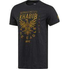 Футболка Reebok UFC Khabib Nurmagomedov - black