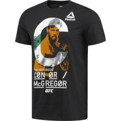 Футболка Reebok UFC Conor McGregor - black