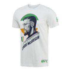 Футболка Reebok UFC Conor McGregor - white