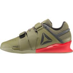Штангетки Reebok Legacy Lifter - olive/red
