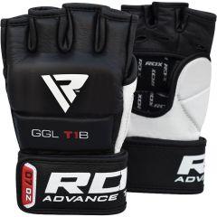 ММА перчатки RDX GGL-T1B - черный/белый