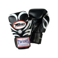 Боксерские перчатки Twins Special FBGV9 - черный/белый