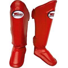 Защита ног (шингарды) Twins Special SGL-10 - красный