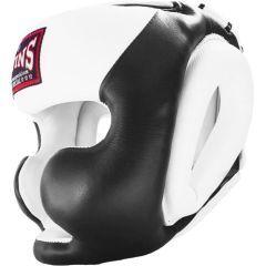 Боксерский шлем Twins Special HGL-3T - черный/белый
