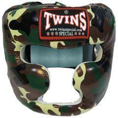 Боксерский шлем Twins Special HGL3-TW - green camo