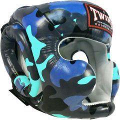 Боксерский шлем Twins Special HGL3-TW - blue camo