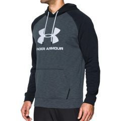 Худи Under Armour Sportstyle Fleece - черный/серый