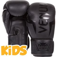 Детские боксерские перчатки Venum Elite - темно-серый